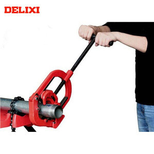 """DELIXI H4S 2""""-4"""" Strong Function High Efficiency Manual Steel Pipe Cutter"""