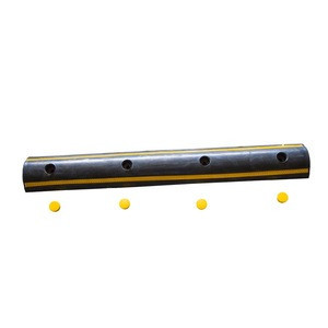 Durable Edge Protection Rubber Corner Protector Wall Guard For Warehouse