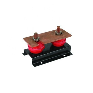 Electric Power Transmission Copper Ground 630A Earth Bus Bar