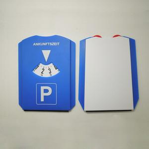 Euro Car Plastic Parking Disc With Ice Scraper,Plastic Parking Clock