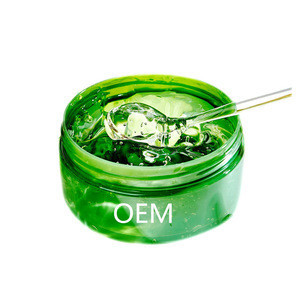 Factory OEM Private Label Natural  Aloe Vera Gel For Soothing and Nourishing Face Skin