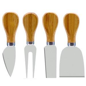 High quality 4 pcs cheese tools set mini cheese knife
