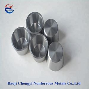 high temperature resistance customization tungsten bowl crucible
