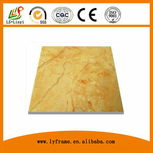 Hot sale high glossy fireproof pvc 3.0mm pvc marble sheet importer