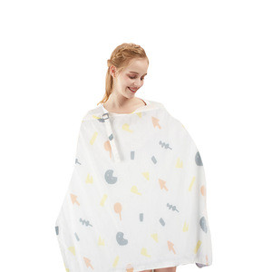 Hot sale organic cotton multi use nursing breastfeeding cover for mother and baby