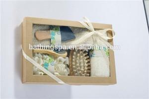 Hot selling ramine hemp bath gift set