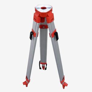 Light duty telescopic aluminum surveying tripod