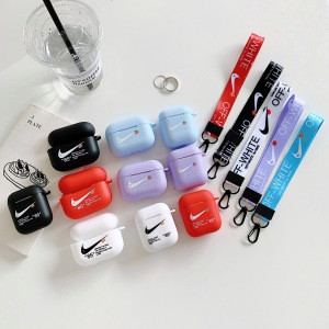 Luxury High Quality For Airpod Accessories for nike air jordan off white transparent For Apple Airpods Case