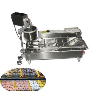 Mini sweet wheat ring cake machine snacks equipment automatic doughnut machine bread making machine