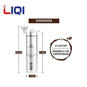 New Popular Adjustable Ceramic Conical Burr Mill Manual Coffee Grinder