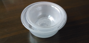 Non-toxic Wholesale Clear disposable Plastic blister Packaging round bowl,box for water