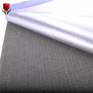 Pre-Oxidized Heat Shielding Para Aramid Flame Retardant Aluminum Foil Woven Fabric