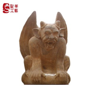 Sandstone  gargoyle statue  for  sale