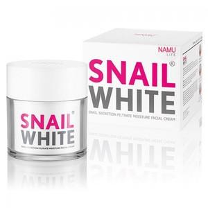 SNAIL WHITE CREAM THAILAND by NAMU LIFE BEST WHITENING CREAM 50 ml