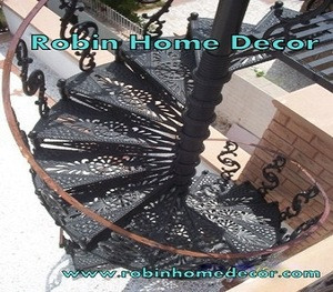 Stairs home decor decoration cast iron Home Decor stairs