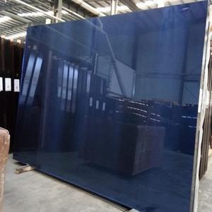 TAIWAN GLASS FACTORY PRICE 4MM 5MM 6MM 8MM DARK BLUE REFLECTIVE GLASS SHEET