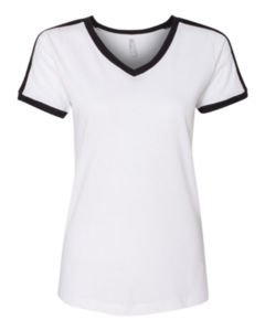 V Neck, Soccer Jersey, Made of Multi Color Polyester