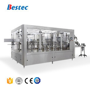 Water filling packing machine line for pure or mineral water bottling plant