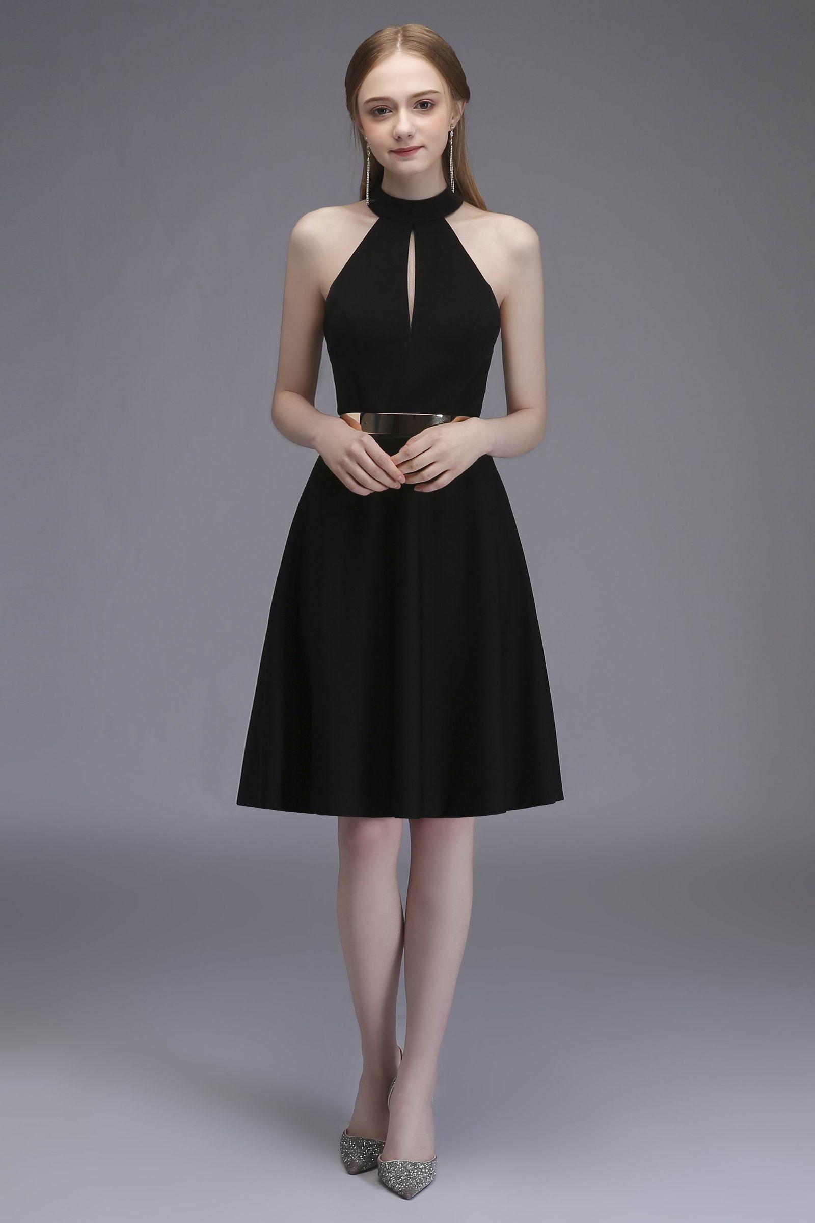 Black Short Party Dress