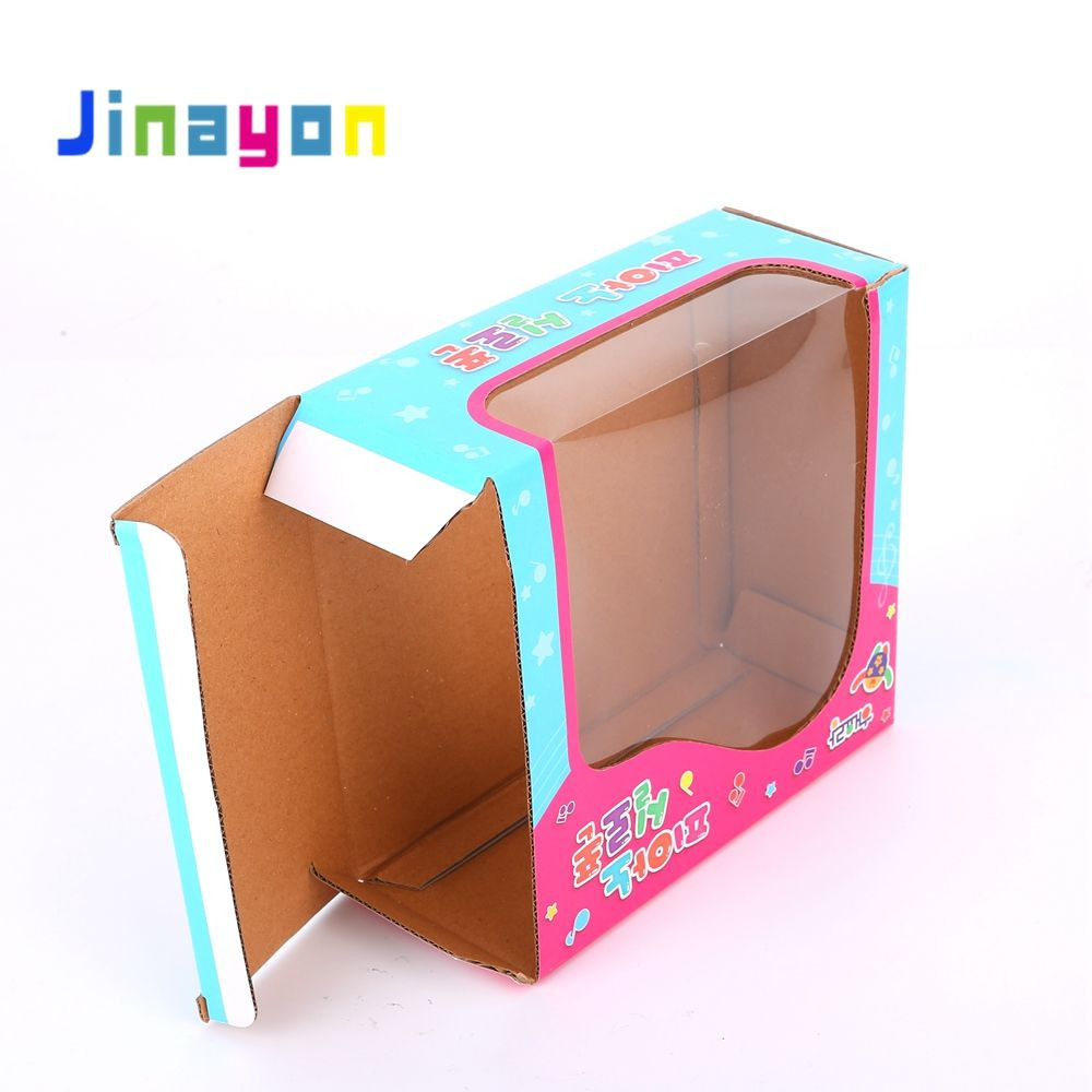 Toy Package Customized Gift Packing Box Paper Box With Window,Foldable Toy Kids Gift Box