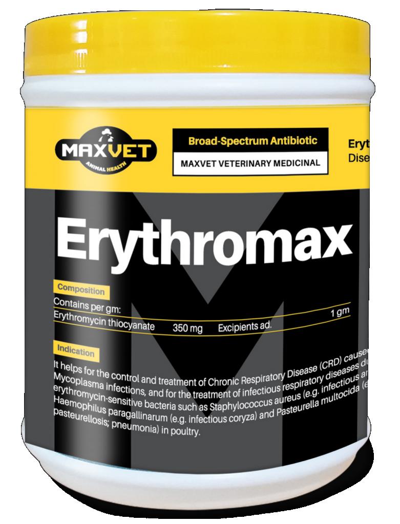 Erythromax Veterinary Medicine Malaysia Antibiotic  Manufacturer Supply Best Quality