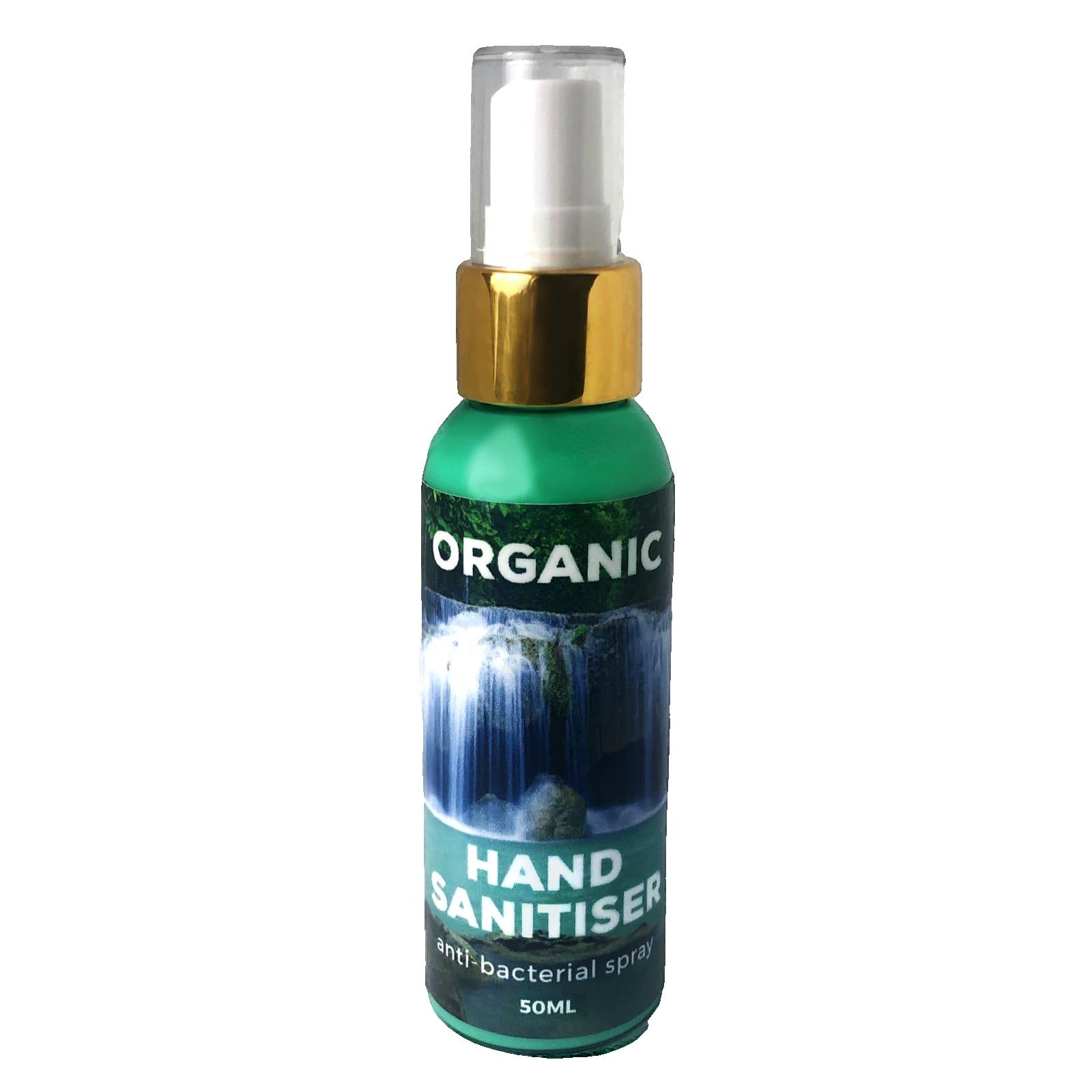 Organic Hand Sanitiser 50ml