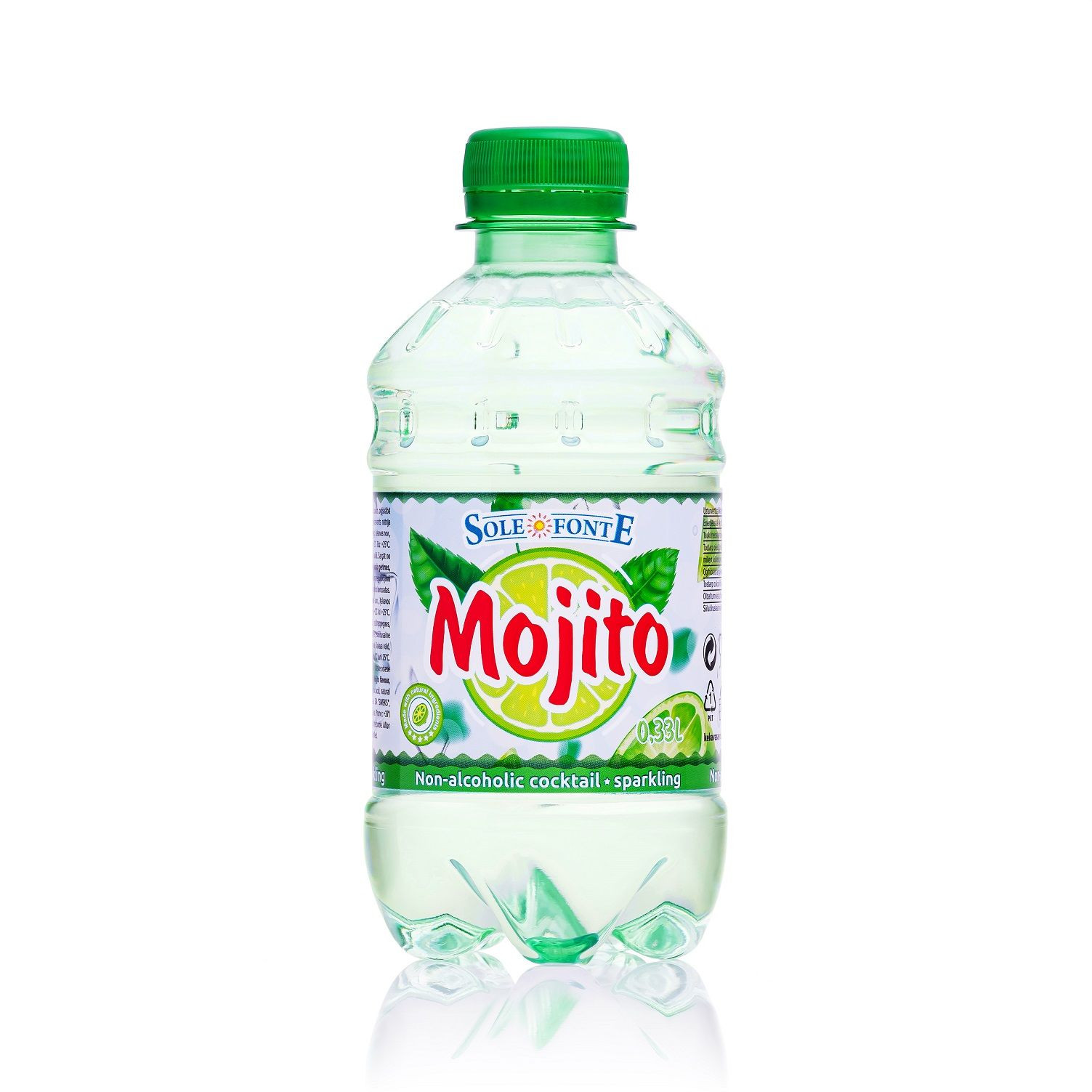 SOFT DRINK MOJITO 0.33L sparkling PET