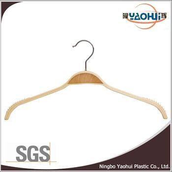 2015 new style 7115 luxury hanger wooden hanger metal hook hanger