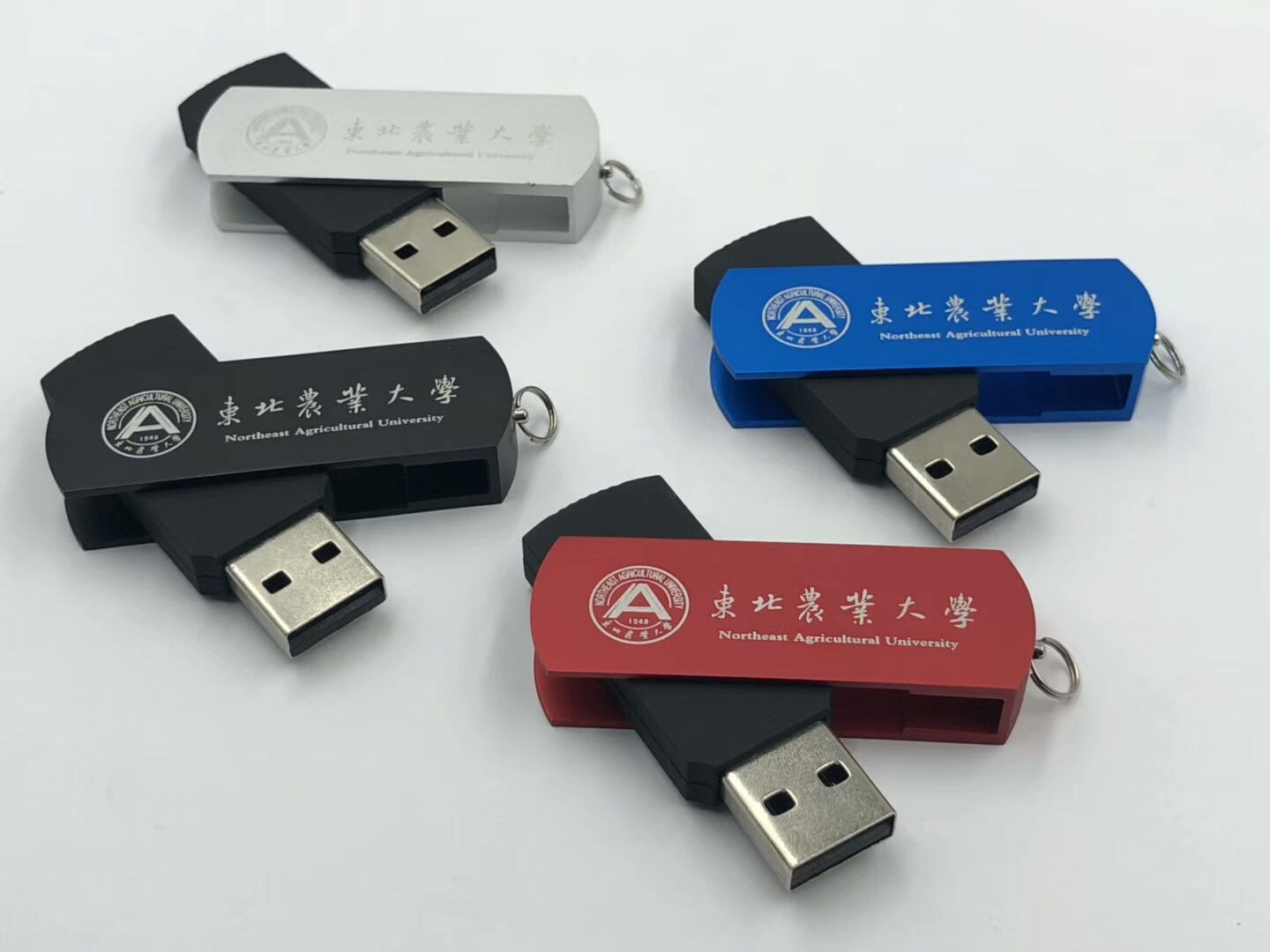 SM-001 Personalized metal 1gb 2gb  4gb usb memory with different color options