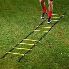 Ultimate Agility Ladder - Agility Speed and Balance Training Ladder for All Ages with Multi Choice 8, 12, 20 Rungs