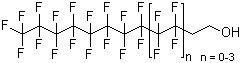 Perfluoro-C8-14-alkylalcohols