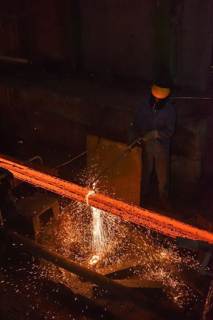 Steel billets and long steel products