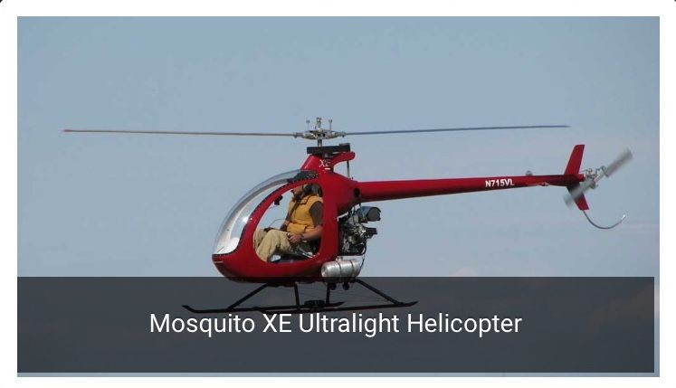 Mosquito helicopter