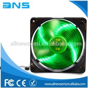 12x12 x3cm led DC 12v laptop cpu cooling fan