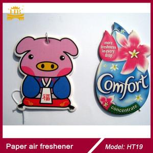 2mm cotton paper absorber paper popular flavor paper car air freshener
