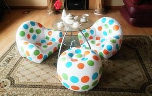 Baby children inflatable beach sofa chair stool