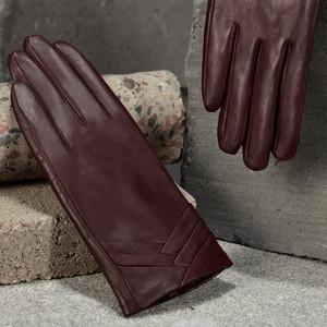 Basic Elegant Sheepskin Ladies Dressing Gloves
