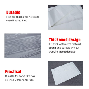 Beauty Hair Cutting Barber Cape for Apron Haircut Salon Disposable Styling Tool pelerynki fryzjerskie jednorazowe Box Packaged