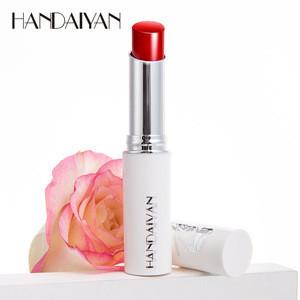 Best selling trendy women lip balm natural rose essence moisturizing nourishing lip plumper lip balm