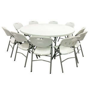 China manufacturer Wholesale popular HDPE plastic folding table  for events