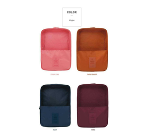 Colorful resonable price good quality shoe bag for travel and home