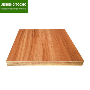 Colors embossment mdf board 18mm melamine plywood for decoration
