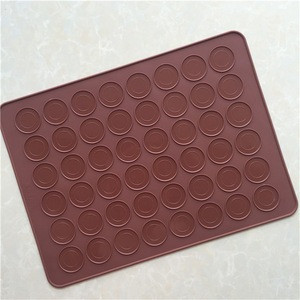 DIY Hamemade Heat resistant non-stick 8 x 11 silicone macaron baking mat for pastry