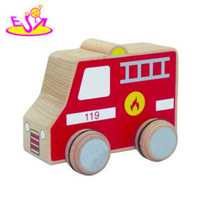 DIY mini wooden ambulance toy car,ambulance car toy Vehicle For Children,Ambulance toys more design for you choose W04A122