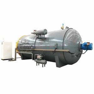 Electric air vulcanization equipment for tire retreading machine