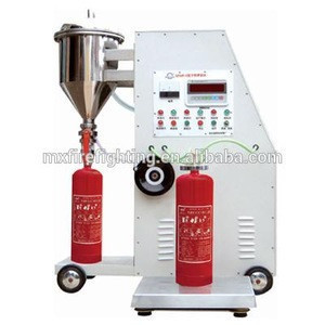 Fire fighting equipment list fire extinguisher dry chemical powder filling machine