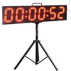 Hangzhou Chitai Battery Supply 6 Digits 6 Inch Remote Control Digital Sport Stopwatch LED
