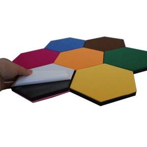 Hexagonal Felt Polyester Fiber Acoustic Panels for Soundproofing