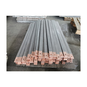 High quality titanium clad copper bar industry solid for electrowinning/electroplating/electrolysis