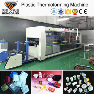 High speed automatic plastic used thermoforming machine for sale